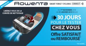 Aspirateur Robot Smart Force Cyclonic Rowenta 100% Remboursé