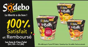 Box & Balls Sodebo 100% Remboursé