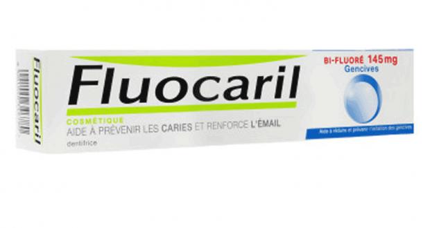 Dentifrice Fluocaril 100% remboursé (différentes variétés)