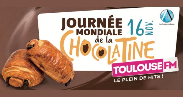 Distribution géante et gratuite de chocolatines