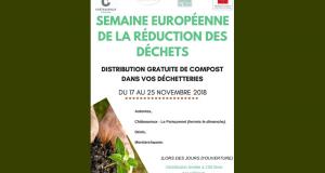 Distribution gratuite de compost - Châteauroux métropole