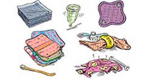 Distribution gratuite de kits Zéro textile sanitaire