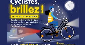 Distribution gratuite de kits lumières pour les cyclistes