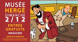 Entrée gratuite au musée Hergé