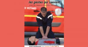Formation Gratuite Aux Gestes qui Sauvent par les Pompiers de l'isère