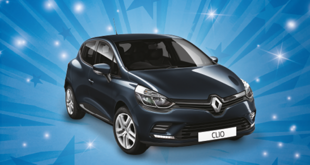 Gagnez une voiture Renault Clio Trend