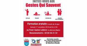 Initiation gratuite aux gestes qui sauvent - Houdemont