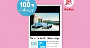 Plus de 250 références 100% remboursées chez Auchan