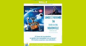 Projection gratuite du film Wall-E et goûter offert