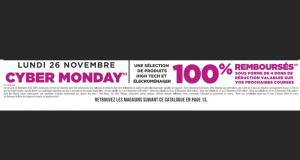 Sélection de produits 100% remboursés en magasin Géant