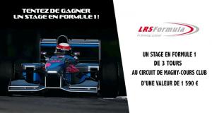 Stage en formule 1 de 3 tours sur le circuit de Magny-Cours