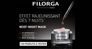 Testez le soin visage NCEF Night Mask des Laboratoires Filorga