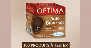 Testez les capsules Optima Autobronzant Vitarmonyl