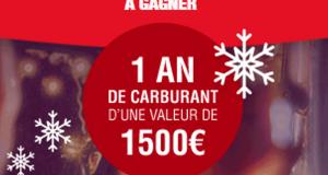Un lot de 1500 euros de cartes carburant