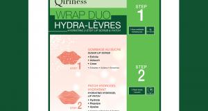 Wrap Duo Hydra-Lèvres de QIRINESS
