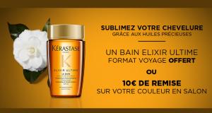 Échantillons gratuits de Soin Le Bain Elixir Ultime Kérastase