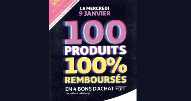 100 produits 100% remboursés - Auchan