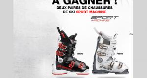 2 paires de chaussures de ski Nordica