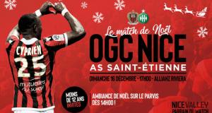 Billet d'entrée Gratuit pour le Match OGC Nice - Saint Etienne