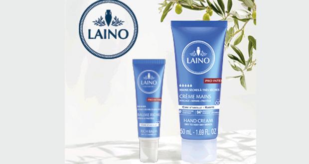 Crème Mains et Baume Riche Pro Intense de Laino