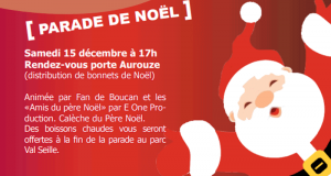 Distribution gratuite de Bonnets de Noël - Courthézon