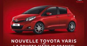 Gagnez une voiture Toyota Yaris France (valeur 15 850 euros)