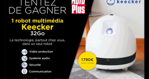 Robot multimédia Keecker 32Go