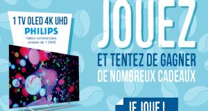 Téléviseur 4K Philips (valeur 1590 euros)