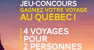 3 voyages de 6 jours pour 2 personnes au Québec