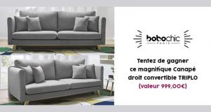Canapé triplo BoBochic