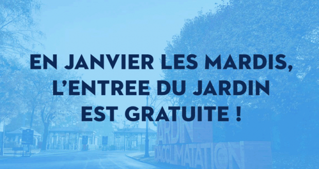 Entrée gratuite au Jardin d'Acclimatation - Paris
