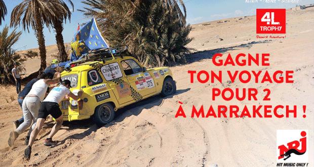 Gagnez un Voyage à Marrakech pour 2 personnes