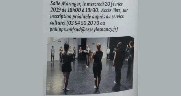Initiation gratuite à la Danse Contemporaine
