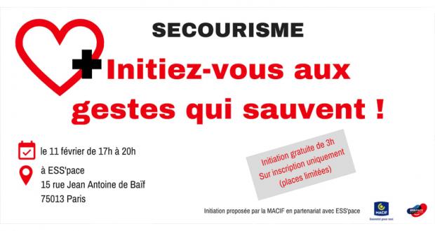Initiation gratuite aux gestes qui sauvent à Paris