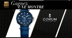 Montre Corum (valeur 3700 euros)