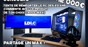 Ordinateur gamer haut de gamme (valeur de 11800 euros)
