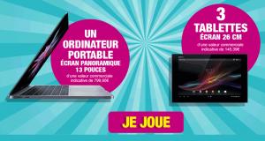 Ordinateur portable (valeur 799 euros)