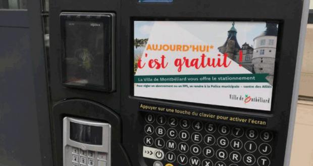 Stationnement gratuit dans la ville - Montbéliard