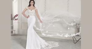 Une robe de mariée Demetrios