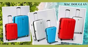 8 lots de 2 valises Mac Douglas