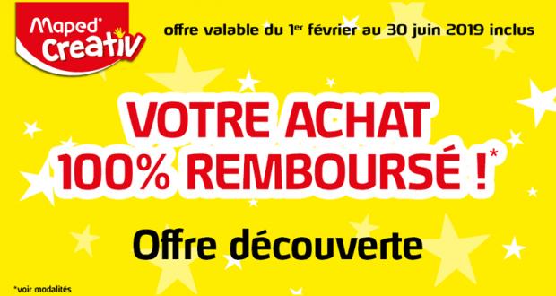 Boîte Creativ Maped 100% Remboursé