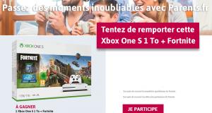 Console de jeux Xbox One + le jeu Fortnite