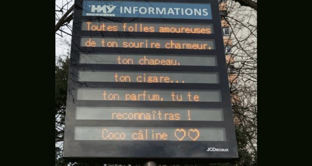 Diffusion gratuite de messages sur les panneaux lumineux