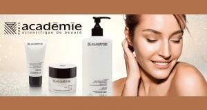 Gagnez 29 lots de 3 produits de soins Académie de la beauté