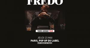 Invitations pour le concert de Fredo à Paris