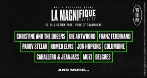 Invitations pour le festival Magnifique Society