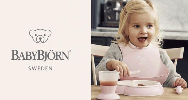 Testez le coffret repas bébé de BABYBJORN