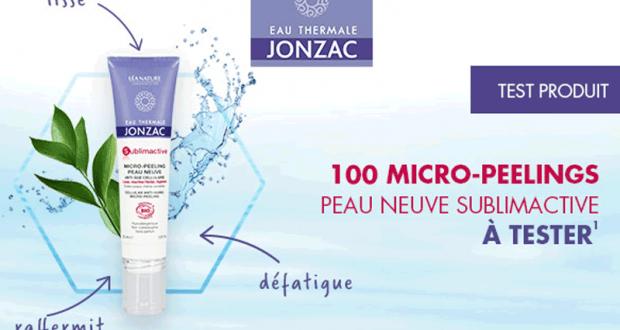 100 Micro-peelings Sublimactive Eau Thermale Jonzac