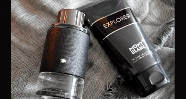 11 parfums + 10 gels douche Explorer de Montblanc