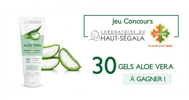 30 gels aloe vera Haut-Ségala